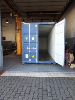 Dostawa kontenera typu 40HC w wersji nowej z przeznaczeniem na jego modyfikację.