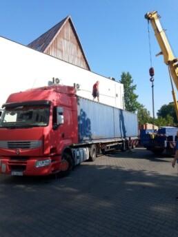 Dostawa kontenera typu 40DC