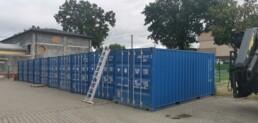 Dostawa kontenerów nowych typu 20DC